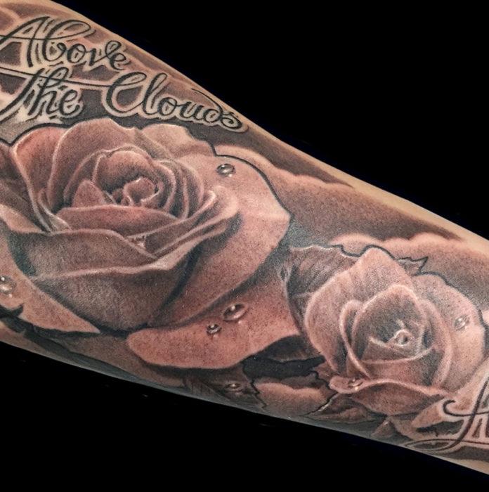 Tattoo Bloemen Needle Time